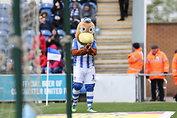 Colchester United mascot - Mandatory by-line: Arron Gent/JMP - 27/04/2019 - FOOTBALL - JobServe Community Stadium - Colchester, England - Colchester United v Milton Keynes Dons - Sky Bet League Two