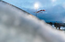 09.03.2018, Holmenkollen, Oslo, NOR, FIS Weltcup Ski Sprung, Raw Air, Oslo, im Bild Dawid Kubacki (POL) // Dawid Kubacki of Poland during the 1st Stage of the Raw Air Series of FIS Ski Jumping World Cup at the Holmenkollen in Oslo, Norway on 2018/03/10. EXPA Pictures © 2018, PhotoCredit: EXPA/ JFK