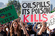 "A climate change rally was held in Los Angeles on February 17, 2013 and drew hundreds of people to City Hall steps to hear speakers and organizers and their message for President Obama to take the nation ""Forward on Climate"", and say no to the Keystone XL pipeline. Speakers in Los Angeles included noted Environmentalist Ed Begley Jr., U.S. Rep. Henry Waxman  and Los Angeles City Councilman Jose Huizar."