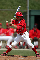 15 February 2007: Mike Stalowy. Indiana State Sycamores gave up the first game of the double-header by a score of 16-6 to the Illinois State Redbirds at Redbird Field on the campus of Illinois State University in Normal Illinois.