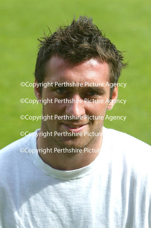St Johnstone FC season 2004-05<br />Keeper Allan McGregor<br /><br />Picture by Graeme Hart.<br />Copyright Perthshire Picture Agency<br />Tel: 01738 623350  Mobile: 07990 594431