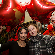 13.02.2018.<br /> University of Limerick International Office Chinese New Year Celebrations, Chungs Chinese Cuisne Castletroy. <br />  Pictured at the event were UL International students, Shi Nan and Yilin Lyu. Picture: Alan Place