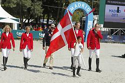 Team Danmark<br /> FEI European Jumping Championship -  2011<br /> (c) www.sportfotos-Lafrentz. de/Stefan Lafrentz