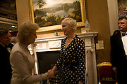 PRINCESS ALEXANDRA AND ANNIE LENNOX, La Vie En Rose, Royal Charity Gala in aid of the Red Cross. The Grosvenor House Antiques Fair. Grosvenor House. Park Lane. London. 11 June 2008.  *** Local Caption *** -DO NOT ARCHIVE-© Copyright Photograph by Dafydd Jones. 248 Clapham Rd. London SW9 0PZ. Tel 0207 820 0771. www.dafjones.com.
