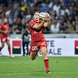 Mike Harris of Lyon during the Top 14 semi final match between Montpellier Herault Rugby and Lyon on May 25, 2018 in Lyon, France. (Photo by Alexandre Dimou/Icon Sport)