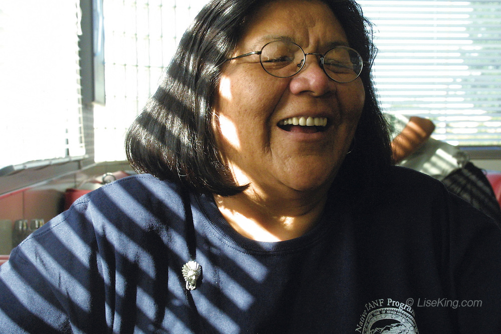 Oglala Lakota tribal leader, Cecelia Fire Thunder, in an interview with The Native Voice. Rapid City, SD, 2003.