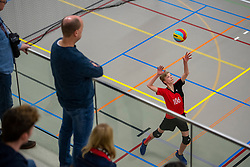 31-03-2018 NED: Final D Volleybaldirect Open, Wognum<br /> 16 teams of girls and boys D competed for the Dutch Open Championship /
