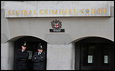 Police Officers outside The old Bailey