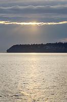 Semiahmoo Bay sunset, Blaine Washington