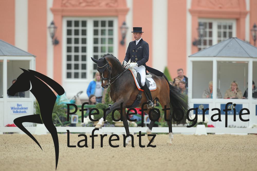 Wagner, Thomas, Very Keen<br /> Wiesbaden - Pfingstturnier 2015<br /> Grand Prix de Dressage<br /> © www.sportfotos-lafrentz.de/Stefan Lafrentz