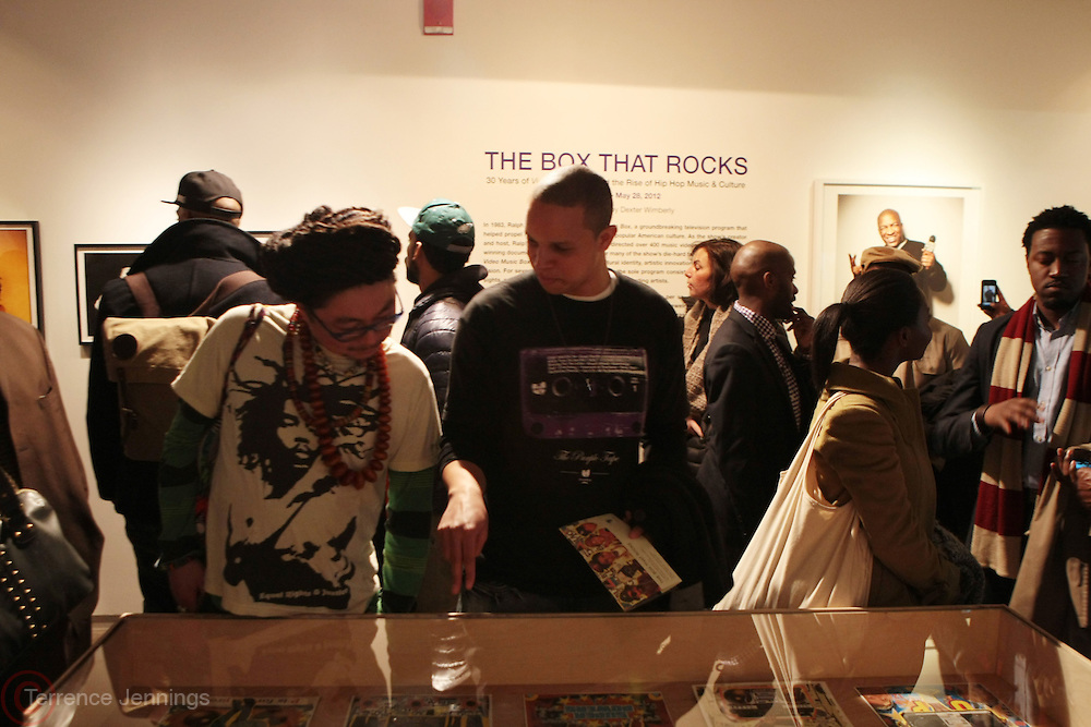 New York, NY- MARCH 10:  Atmosphere at the Opening Reception of ' THE BOX THAT ROCKS: 30 Years of Video Music Box and the Rise of Hip Hop Music & Culture held at the Museum of Contemporary African Diasporan Arts (MoCADA) on March 10, 2012 in Brooklyn, New York City. (Photo by Terrence Jennings)