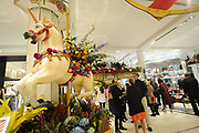 Macy's Herald Square presents Carnival, the 43rd annual Macy's Flower Show, Saturday, March 25, 2017, in New York. (Photo by Diane Bondareff/AP Images for Macy's Inc.)