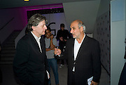 DEYAN SUDJIC; ALAN YENTOB, brit Insurance Design Awards 2009. Design Museum. London. 18 March 2009. *** Local Caption *** -DO NOT ARCHIVE-© Copyright Photograph by Dafydd Jones. 248 Clapham Rd. London SW9 0PZ. Tel 0207 820 0771. www.dafjones.com.<br /> DEYAN SUDJIC; ALAN YENTOB, brit Insurance Design Awards 2009. Design Museum. London. 18 March 2009.