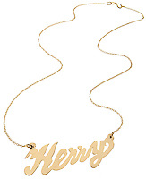 gold kerry necklace on a gold chain