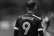 Forest Green Rovers Christian Doidge(9) during the EFL Sky Bet League 2 match between Crewe Alexandra and Forest Green Rovers at Alexandra Stadium, Crewe, England on 27 April 2019.