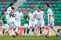 uring football match between NK Olimpija and NK Rudar Velenje in 2nd Round of Slovenian Cup 2019/20, on August 15, 2019 in Arena Stozive, Ljubljana, Slovenia. Photo by Grega Valancic / Sportida