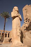 Temple of Amun at Karnak..Luxor, Egypt