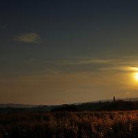 Sunset over Kit Hill
