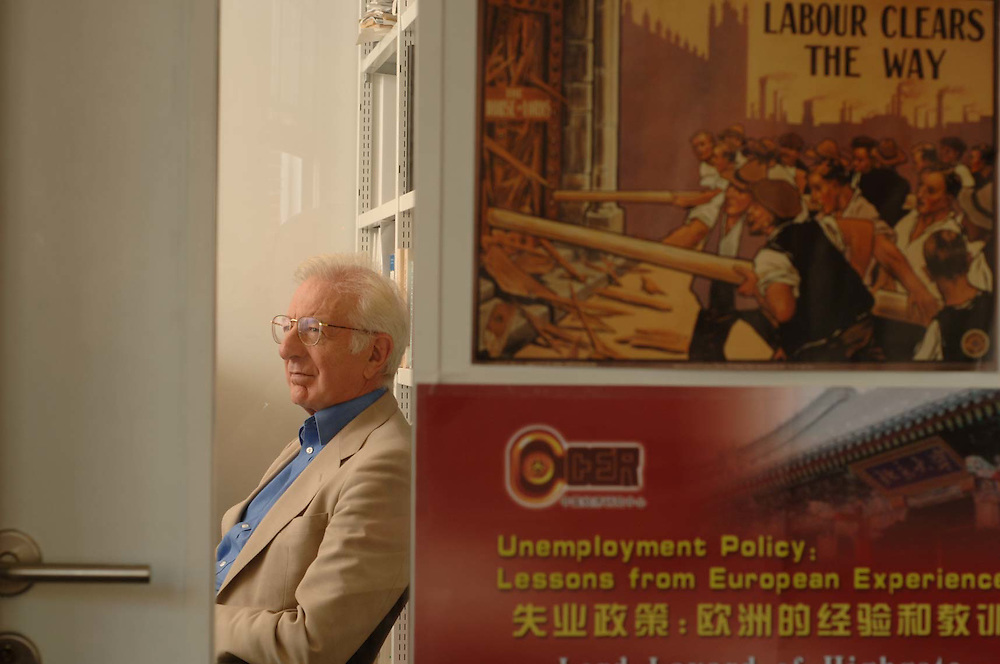 Prof. Lord Richard Layard, of the London School of Economics.