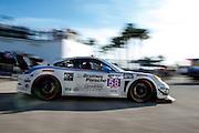 January 22-25, 2015: Rolex 24 hour. 58, Porsche, 911 GT America, GTD, Madison Snow, Jan Heylen, Patrick Dempsey, Philipp Eng