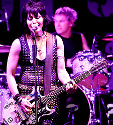 NEWPORT BEACH, CA - 09/16/2011: American rock musician Joan Jett and the Blackhearts perform live at Taste of Newport 2011 . Photo by Eduardo E. Silva