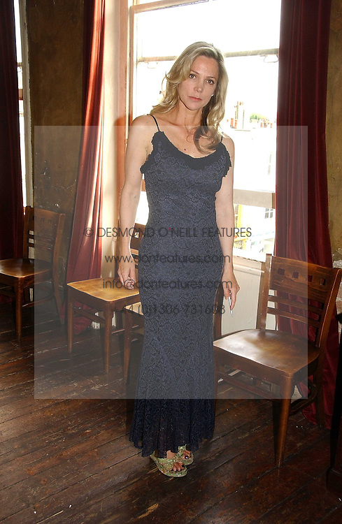 LADY LIZA CAMPBELL at a party to celebrate the publication of Title Deeds by Liza Campbell at the First Floor, 186 Portobello Road, London on 14th June 2006.<br /><br />NON EXCLUSIVE - WORLD RIGHTS
