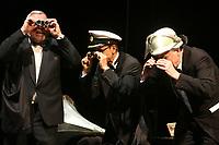 Mannheim. 11.02.18  <br /> Nationaltheater. Gro&szlig;e b&uuml;rgerschaftliche Auszeichnung &quot;Das Bloomaul&quot; an Rolf G&ouml;tz.<br /> Das Auswahlkomitee, darunter Bert Siegelmann, Achim Weizel und Marcus Haas, entschied sich f&uuml;r Rolf G&ouml;tz. Helen Heberer h&auml;lt die Laudatio.<br /> Bild-ID 065   Markus Pro&szlig;witz 11FEB18 / masterpress