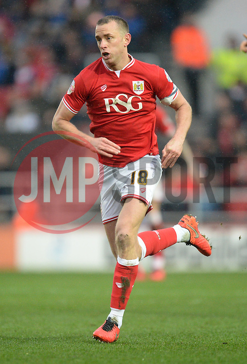 Aaron Wilbraham of Bristol City - Mandatory byline: Alex James/JMP - 13/02/2016 - FOOTBALL - Ashton Gate - Bristol, England - Bristol City v Ipswich Town - Sky Bet Championship