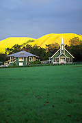 Church, Waimea, Island of Hawaii<br />