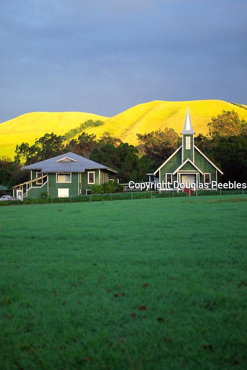 Church, Waimea, Island of Hawaii<br />