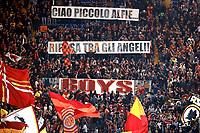 In ricordo dl piccolo Alfie <br /> Roma 02-05-2018 Stadio Olimpico<br /> Football Calcio UEFA Champions League 2017/2018<br /> AS Roma - Liverpool <br /> Semifinali di ritorno, Semi finals 2nd leg<br /> Foto Cesare Purini / Insidefoto