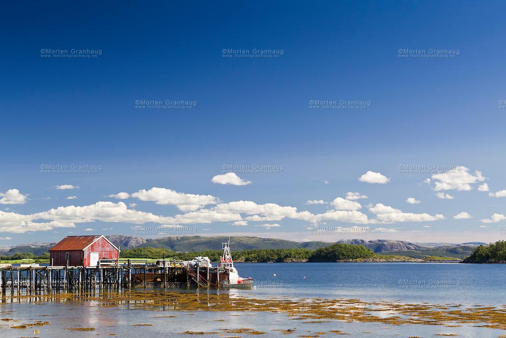 Sjø og landskap i Nærøy kommune, Nord-Trøndelag.