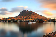 Delayed exposure of Mt Manaia from Taurikura:<br /> <br /> Print options:<br /> <br /> PRINT:<br /> A4 - $115 (with white matt)<br /> A3 - $195 <br /> A2 - $245<br /> <br /> FRAMED PRINT<br /> A4 - $225<br /> A3 - $460<br /> A2 - $560<br /> <br /> Contact Alan to order through the contact tab above, or at info@alansquires.co.nz<br /> <br /> N.B.<br /> All prints are signed and numbered.<br /> P&P - free within Whangarei District.<br /> The wood frames come in black or white.<br /> All black and white prints are made on archival cotton rag paper (360gsm).<br /> All colour prints are on Luster paper (260gsm).