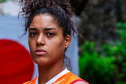 13-10-2018 JPN: World Championship Volleyball Women day 14, Nagoya<br /> Portraits Dutch Volleybal Team - Celeste Plak #4 of Netherlands