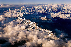 NEPALESE AIR SPACE - Arial view of the Himalayan mountain range. (Photo © Jock Fistick)