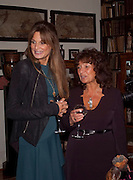 JEMIMA KHAN; Lisa Appignanese  , Freud Museum dinner, Maresfield Gardens. 16 June 2011. <br /> <br />  , -DO NOT ARCHIVE-© Copyright Photograph by Dafydd Jones. 248 Clapham Rd. London SW9 0PZ. Tel 0207 820 0771. www.dafjones.com.