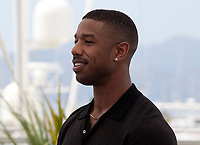 Actor Michael B. Jordan at the Farenheit 451 film photo call at the 71st Cannes Film Festival, Saturday 12th May 2018, Cannes, France. Photo credit: Doreen Kennedy