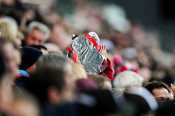 A tin foil FA Cup - Mandatory by-line: Ryan Hiscott/JMP - 17/02/2019 - FOOTBALL - Ashton Gate Stadium - Bristol, England - Bristol City v Wolverhampton Wanderers - Emirates FA Cup fifth round proper
