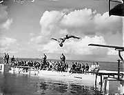 Swimming Championships at Blackrock.02/08/1958
