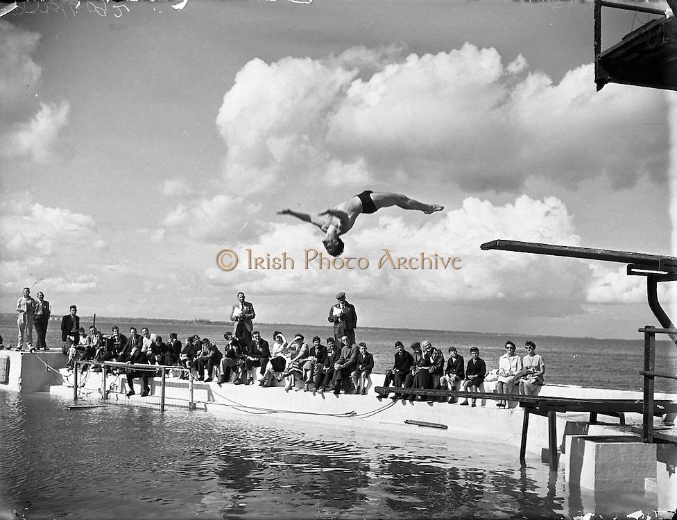 Swimming Championships at Blackrock.02/08/1958