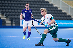 Canterbury's Craig Boyne. Canterbury v Sevenoaks - Men's Hockey League Finals, Lee Valley Hockey & Tennis Centre, London, UK on 23 April 2017. Photo: Simon Parker