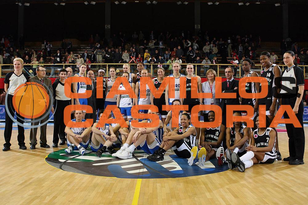 DESCRIZIONE : Pecs Euroleague Women All Star Game 2006<br /> GIOCATORE :<br /> SQUADRA : Europe Europa Resto del Mondo Rest of the World<br /> EVENTO : Euroleague Women All Star Game 2006<br /> GARA : Europa Resto del Mondo Europe Rest of the World<br /> DATA : 08/03/2006<br /> CATEGORIA :<br /> SPORT : Pallacanestro<br /> AUTORE : Agenzia Ciamillo&amp;Castoria/E.Castoria<br /> Galleria : Year of the Women Basketball<br /> Fotonotizia : Pecs Euroleague Women All Star Game 2006<br /> Predefinita :