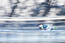 Poland, Wisla Malinka - 2017 November 19: Robert Kranjec from Slovenia slides on the hill while Men's Individual HS134 competition during FIS Ski Jumping World Cup Wisla 2017/2018 - Day 3 at jumping hill of Adam Malysz on November 19, 2017 in Wisla Malinka, Poland.<br /> <br /> Mandatory credit:<br /> Photo by © Adam Nurkiewicz<br /> <br /> Adam Nurkiewicz declares that he has no rights to the image of people at the photographs of his authorship.<br /> <br /> Picture also available in RAW (NEF) or TIFF format on special request.<br /> <br /> Any editorial, commercial or promotional use requires written permission from the author of image.