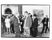 Peter Doig and Dinos Chapman. Sensation opening, Royal Academy. London. 16 September 1997. © Copyright Photograph by Dafydd Jones 66 Stockwell Park Rd. London SW9 0DA Tel 020 7733 0108 www.dafjones.com