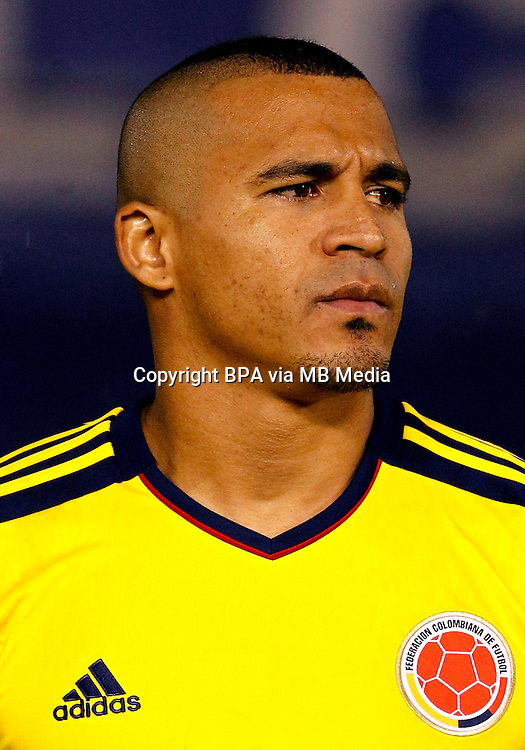 Football Fifa Brazil 2014 World Cup Matchs / South America - Group Matches /<br /> Paraguay vs Colombia 1-2  ( Defensores del Chaco Stadium-Asuncion ,Paraguay )<br /> Macnelly TORRES of Colombia ,  during the match between Paraguay and Colombia