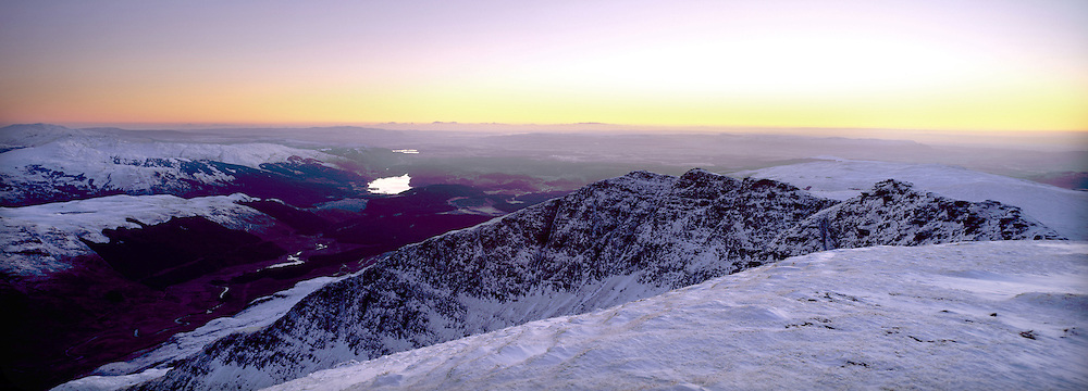 Pre Dawn during winter on Ben Lomond