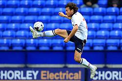 Lawrie Wilson of Bolton Wanderers controls the ball mid air - Mandatory by-line: Matt McNulty/JMP - 26/07/2016 - FOOTBALL - Macron Stadium - Bolton, England - Bolton Wanderers v Burnley - Pre-season friendly