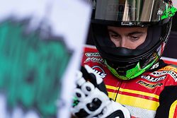 May 10, 2019 - Imola, BO, Italy - Eugene Laverty of Team Goeleven at box during the free practice 1 of the Motul FIM Superbike Championship, Italian Round, at International Circuit ''Enzo and Dino Ferrari'', on May 10, 2019 in Imola, Italy  (Credit Image: © Danilo Di Giovanni/NurPhoto via ZUMA Press)