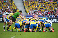 Pascal GAUZERE - illustration melee  - 13.06.2015 - Clermont / Stade Francais - Finale Top 14<br />