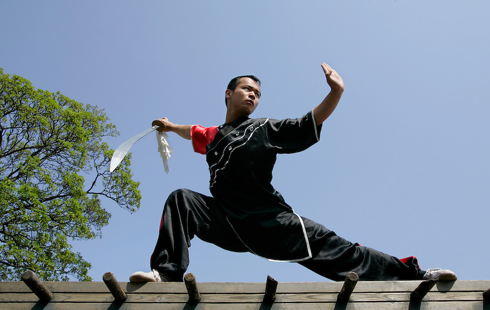 THE NETHERLANDS-THE HAGUE-Wushu champion Fei Bao Xian. PHOTO: GERRIT DE HEUS.